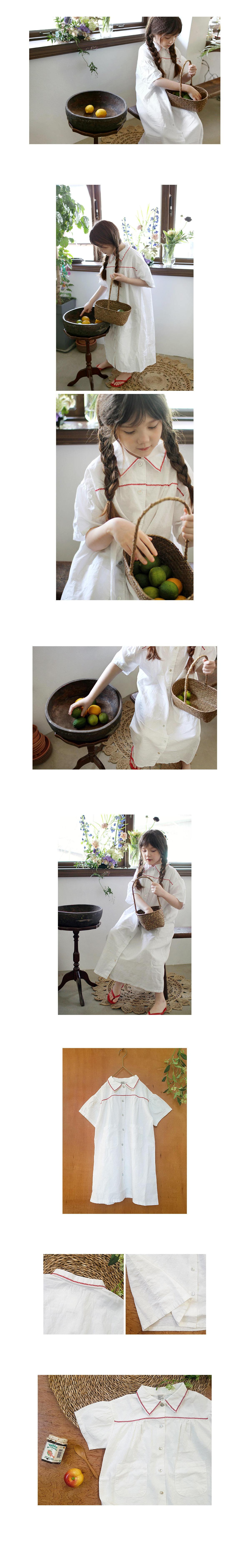SCON - Korean Children Fashion - #Kfashion4kids - Saydean One-piece - 2