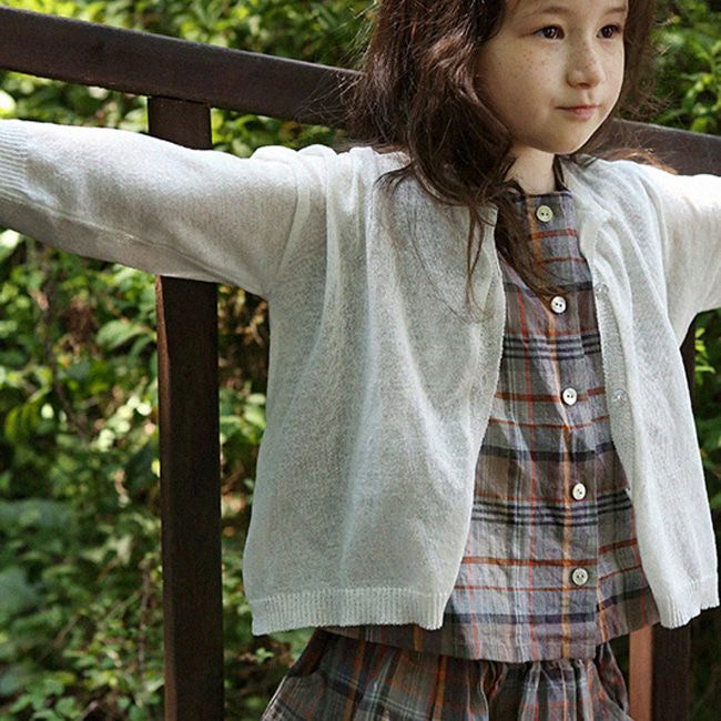 SCON - BRAND - Korean Children Fashion - #Kfashion4kids - Jullie Summer Cardigan
