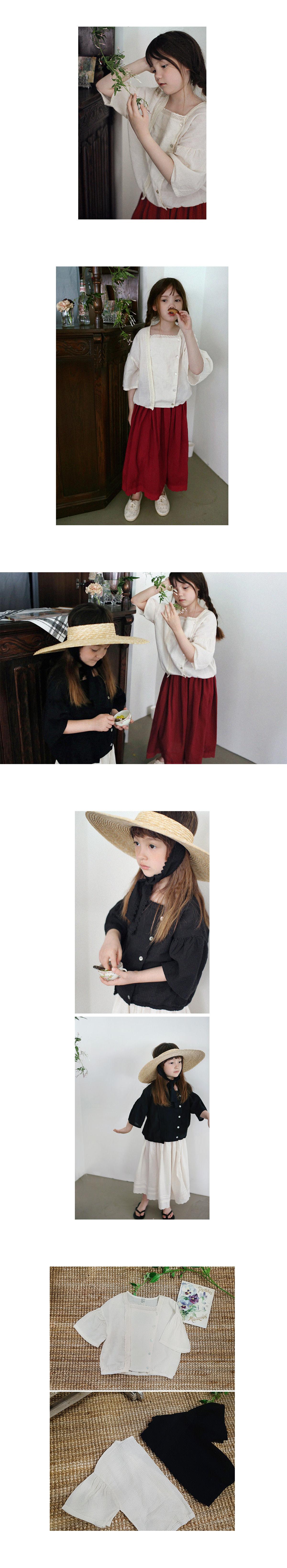 SCON - Korean Children Fashion - #Kfashion4kids - Jude Blouse - 2