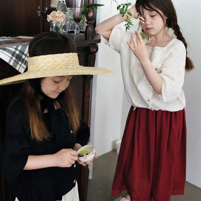 SCON - BRAND - Korean Children Fashion - #Kfashion4kids - Jude Blouse