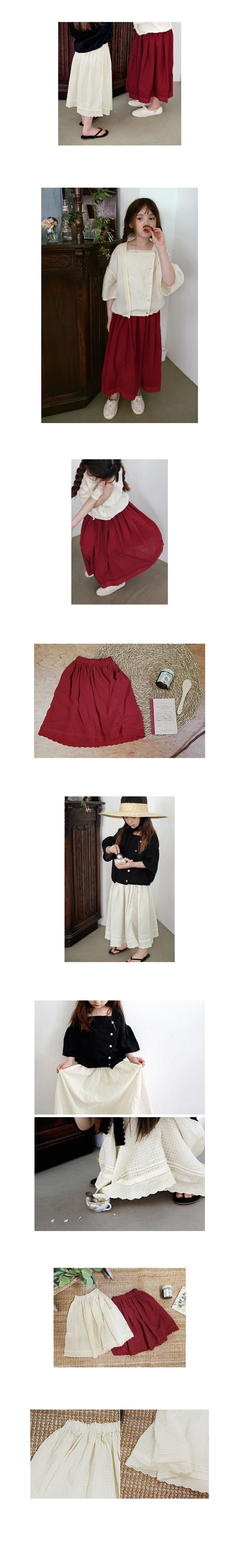 SCON - Korean Children Fashion - #Kfashion4kids - Leubene Skirt - 2