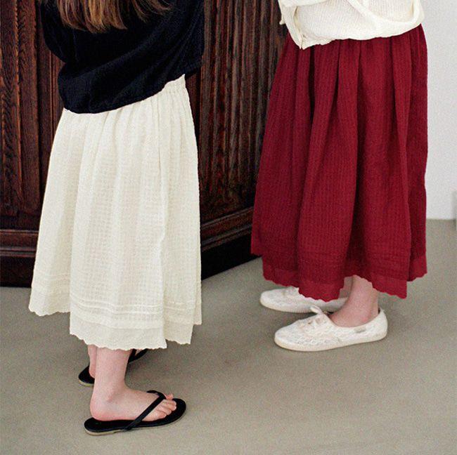 SCON - BRAND - Korean Children Fashion - #Kfashion4kids - Leubene Skirt