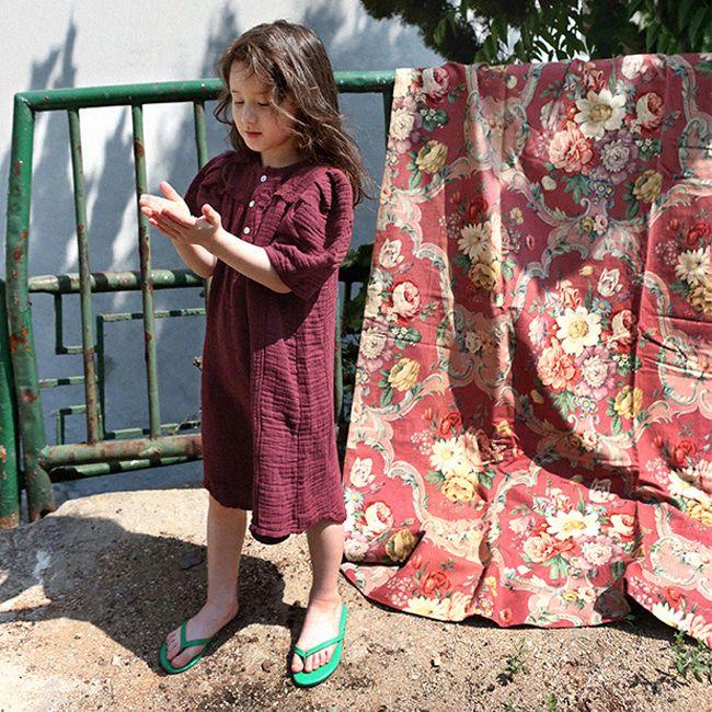 SCON - BRAND - Korean Children Fashion - #Kfashion4kids - Ashre One-piece