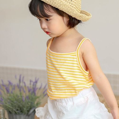SEWING-B - BRAND - Korean Children Fashion - #Kfashion4kids - Anfant Sleeveless Top