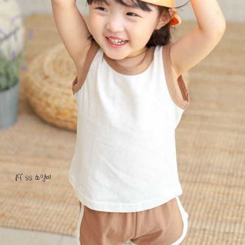 SEWING-B - BRAND - Korean Children Fashion - #Kfashion4kids - Crayon Top Bottom Set