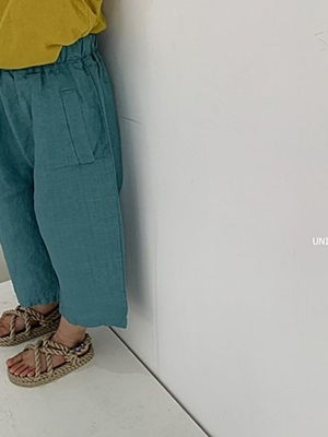 UNIUNI - BRAND - Korean Children Fashion - #Kfashion4kids - Linen Pants
