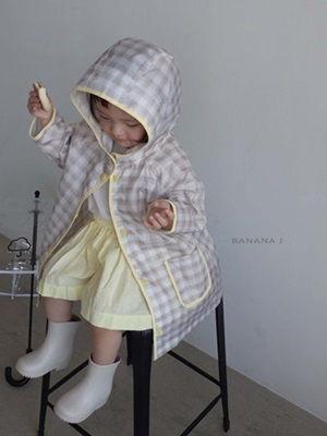 BANANA J - BRAND - Korean Children Fashion - #Kfashion4kids - Days Raincoat