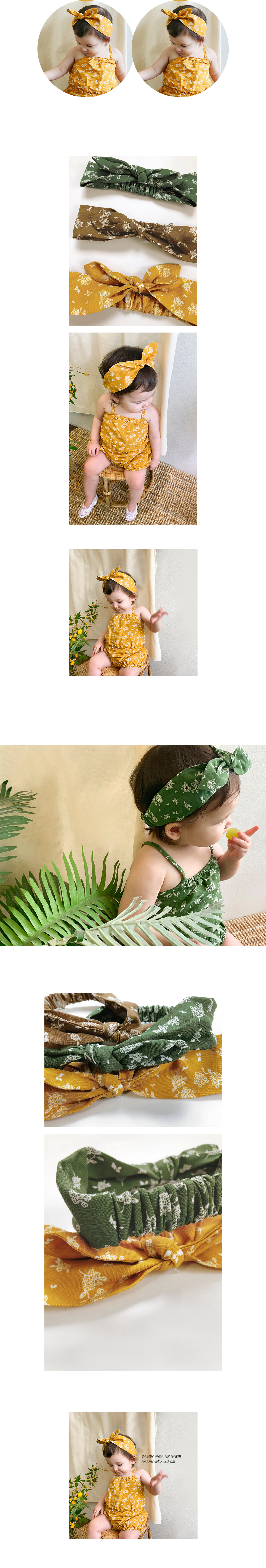 BIEN A BIEN - Korean Children Fashion - #Kfashion4kids - Floral Ribbon Hairband - 2