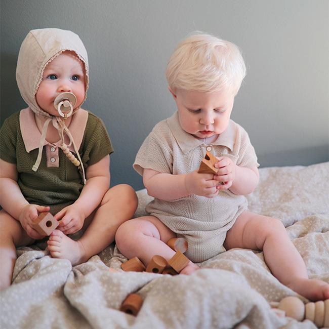 BIEN A BIEN - BRAND - Korean Children Fashion - #Kfashion4kids - Skasi Baby Bodysuit
