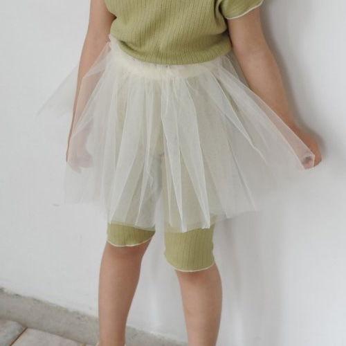 BUTTERCUP - BRAND - Korean Children Fashion - #Kfashion4kids - Band Tutu Skirt