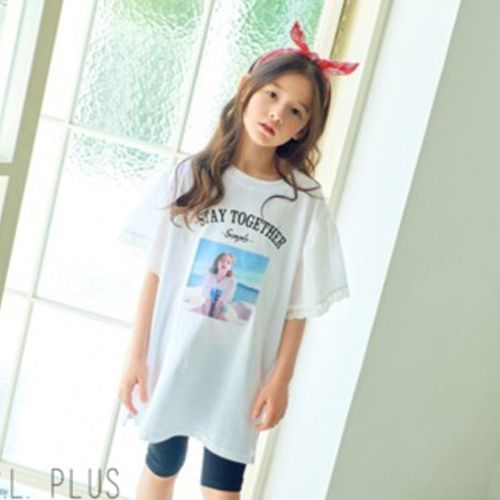 C.L PLUS - BRAND - Korean Children Fashion - #Kfashion4kids - Lovely Long Tee