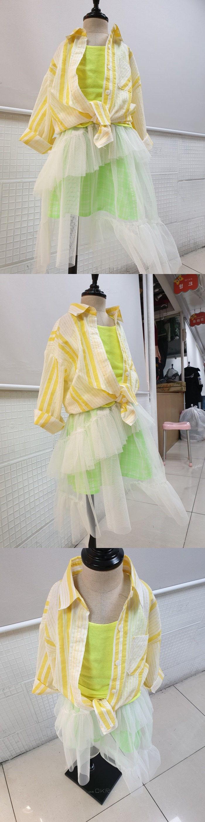 C.L PLUS - Korean Children Fashion - #Kfashion4kids - Cha Skirt