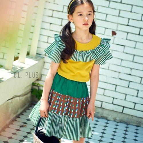 C.L PLUS - BRAND - Korean Children Fashion - #Kfashion4kids - Capri Skirt