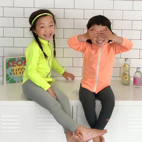 CONCOCTER - BRAND - Korean Children Fashion - #Kfashion4kids - Rashguard Top Bottom Set