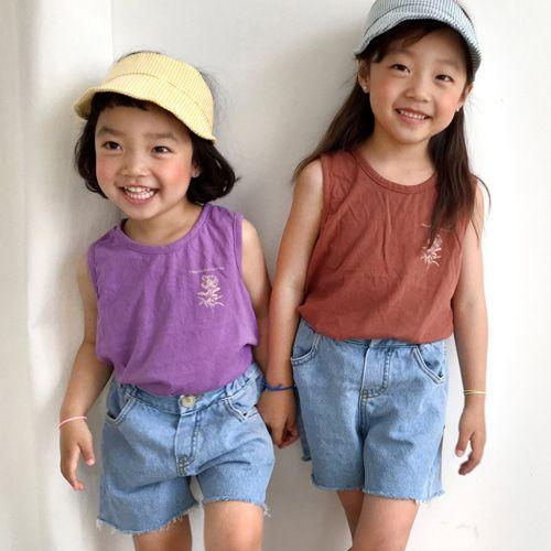CONCOCTER - BRAND - Korean Children Fashion - #Kfashion4kids - Soft Denim Short Pants