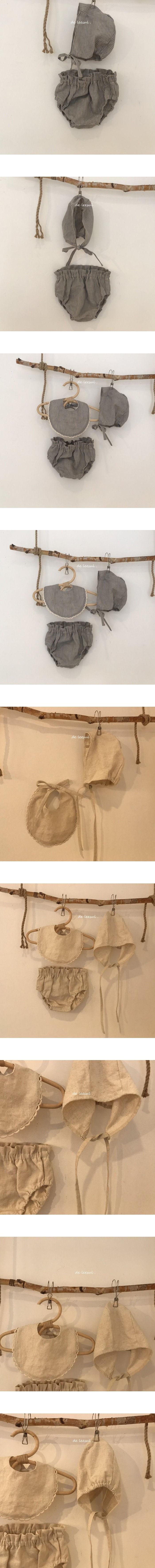 DE LEESUL - Korean Children Fashion - #Kfashion4kids - Linen Bonnet