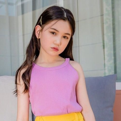 DORE DORE - BRAND - Korean Children Fashion - #Kfashion4kids - Rib Sleeveless Tee
