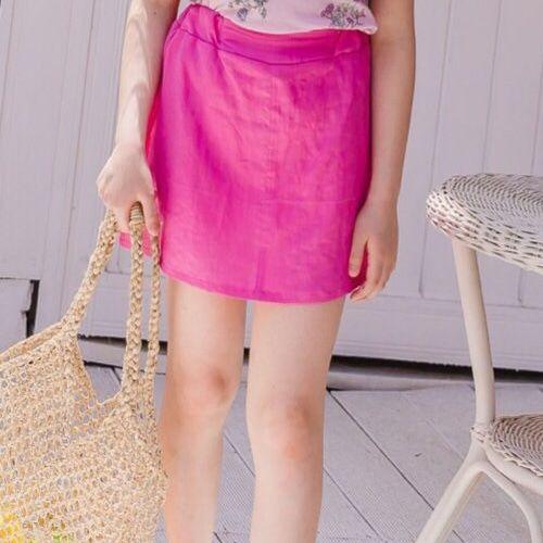 DORE DORE - BRAND - Korean Children Fashion - #Kfashion4kids - Linen Skirt Pants