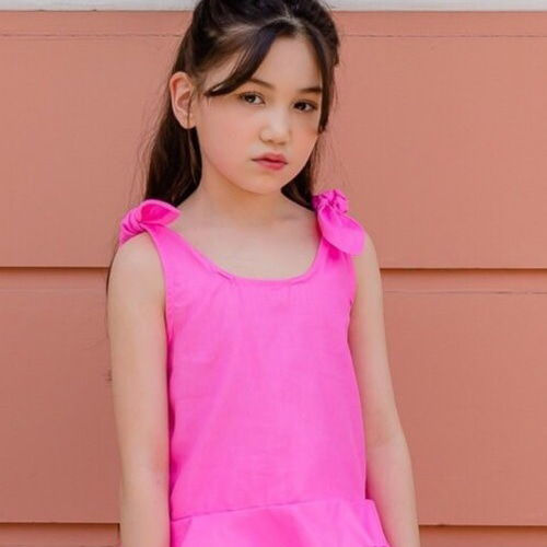 DORE DORE - BRAND - Korean Children Fashion - #Kfashion4kids - Touch Sleeveless Tee