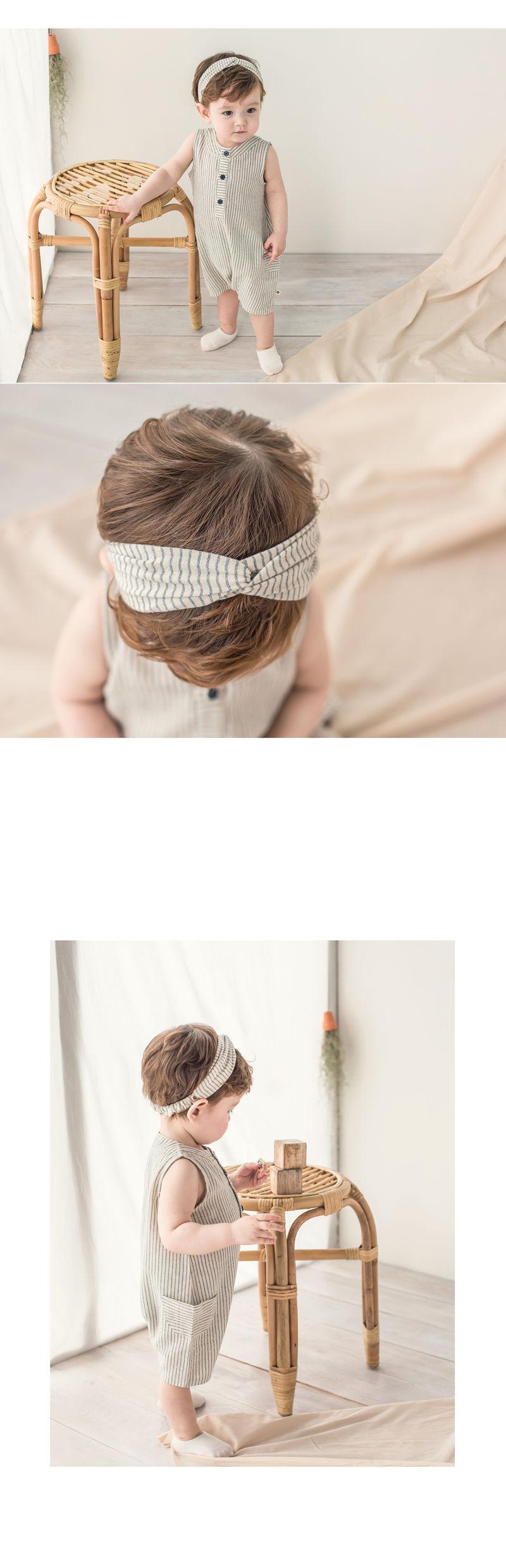 HAPPY PRINCE - Korean Children Fashion - #Kfashion4kids - Huan Hairband [set of 5] - 2