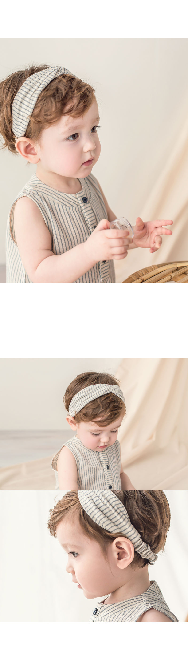 HAPPY PRINCE - Korean Children Fashion - #Kfashion4kids - Huan Hairband [set of 5] - 3