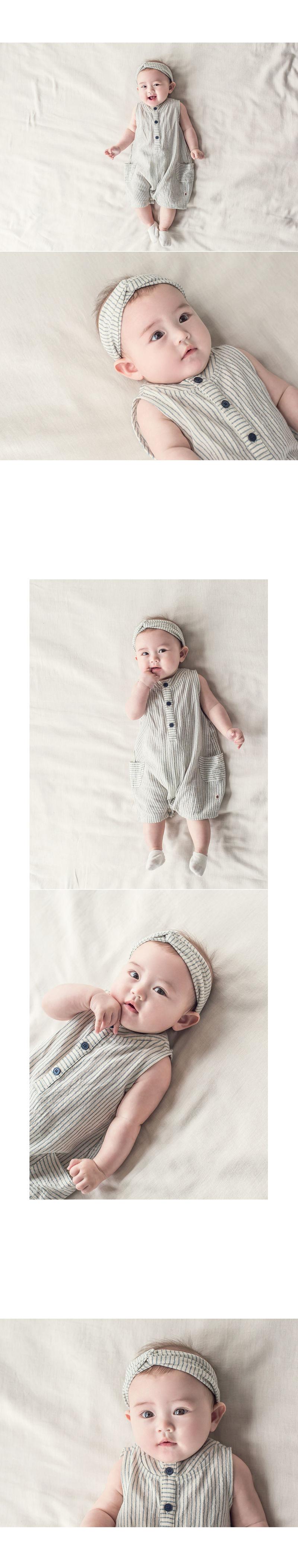 HAPPY PRINCE - Korean Children Fashion - #Kfashion4kids - Huan Hairband [set of 5] - 5