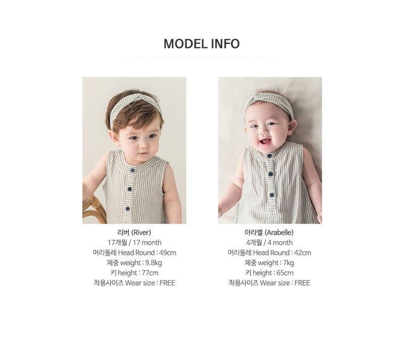HAPPY PRINCE - Korean Children Fashion - #Kfashion4kids - Huan Hairband [set of 5] - 9