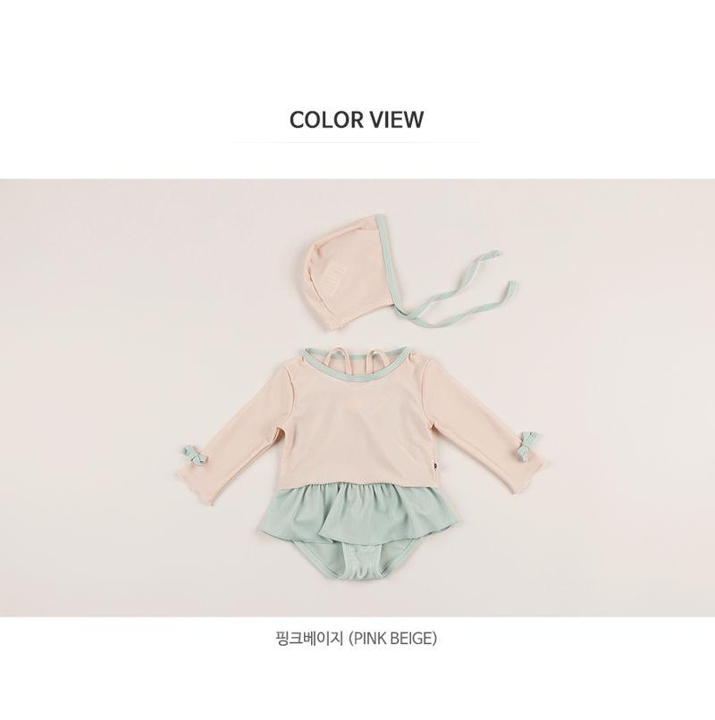 HAPPY PRINCE - Korean Children Fashion - #Kfashion4kids - Amante Rashguard Set - 10