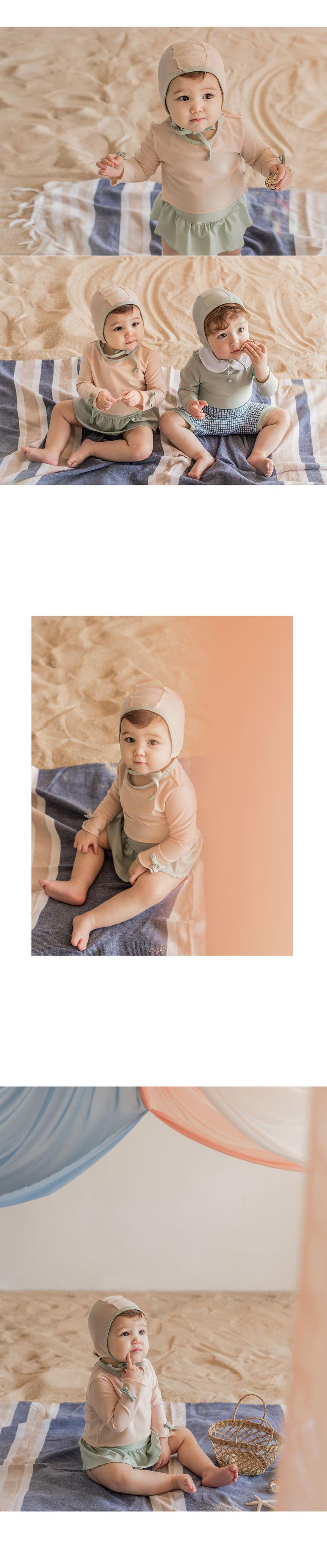 HAPPY PRINCE - Korean Children Fashion - #Kfashion4kids - Amante Rashguard Set - 4