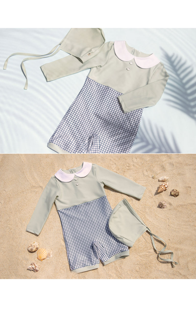 HAPPY PRINCE - Korean Children Fashion - #Kfashion4kids - Mon Chouchou Rashguard Set - 5