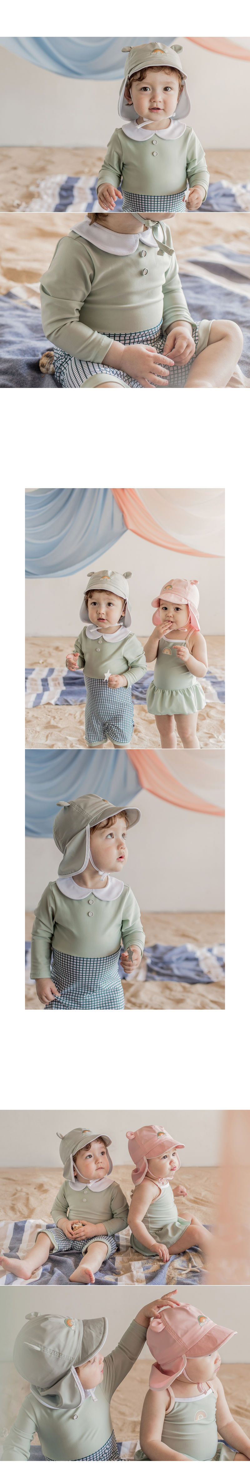 HAPPY PRINCE - Korean Children Fashion - #Kfashion4kids - Mon Chouchou Rashguard Set - 6
