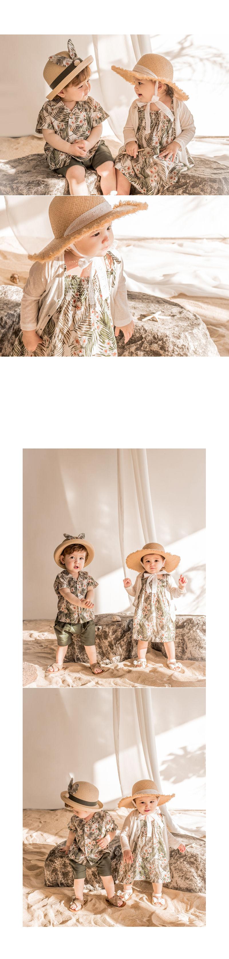 HAPPY PRINCE - Korean Children Fashion - #Kfashion4kids - Flor Smocking One-piece - 4