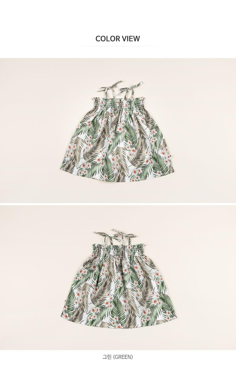 HAPPY PRINCE - Korean Children Fashion - #Kfashion4kids - Flor Smocking One-piece - 6