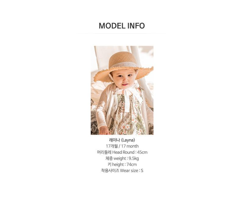 HAPPY PRINCE - Korean Children Fashion - #Kfashion4kids - Flor Smocking One-piece - 8