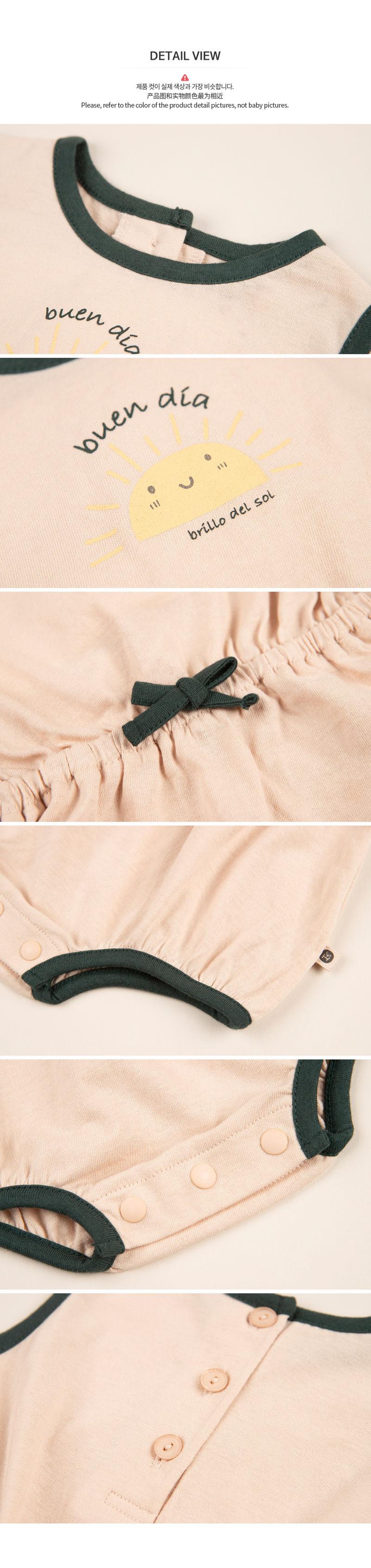 HAPPY PRINCE - Korean Children Fashion - #Kfashion4kids - Vivid Body Suit - 7