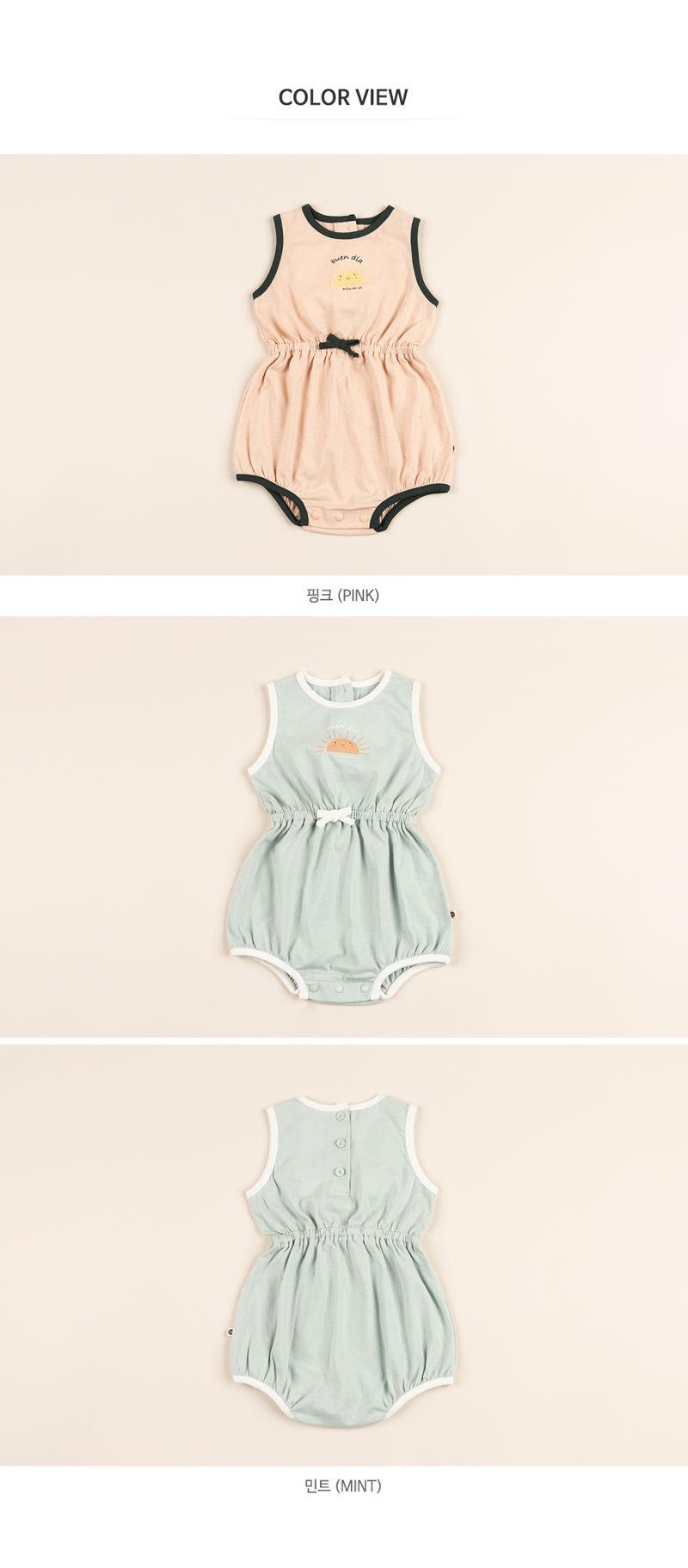 HAPPY PRINCE - Korean Children Fashion - #Kfashion4kids - Vivid Body Suit - 8