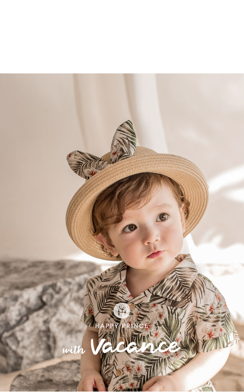 HAPPY PRINCE - Korean Children Fashion - #Kfashion4kids - Pio Straw Fedora