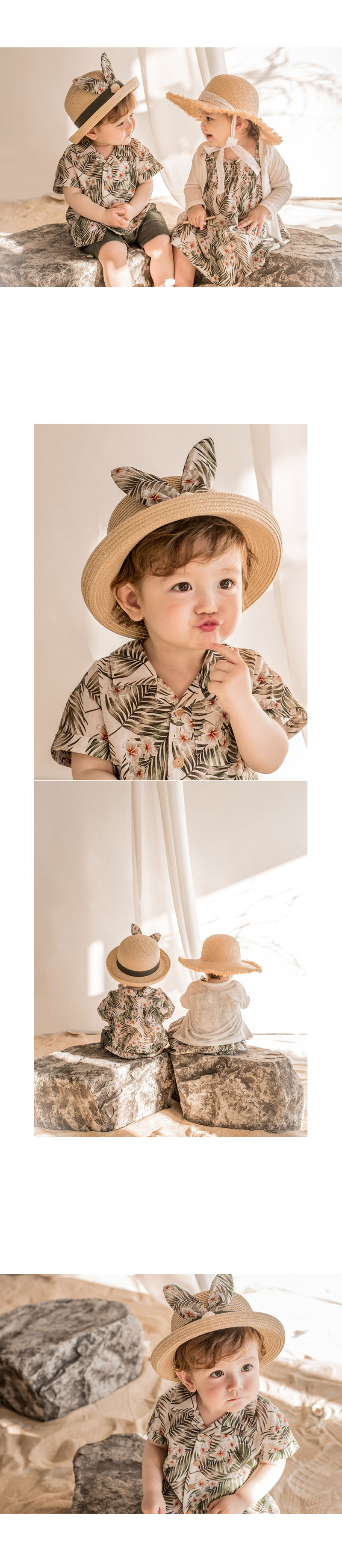 HAPPY PRINCE - Korean Children Fashion - #Kfashion4kids - Pio Straw Fedora - 5