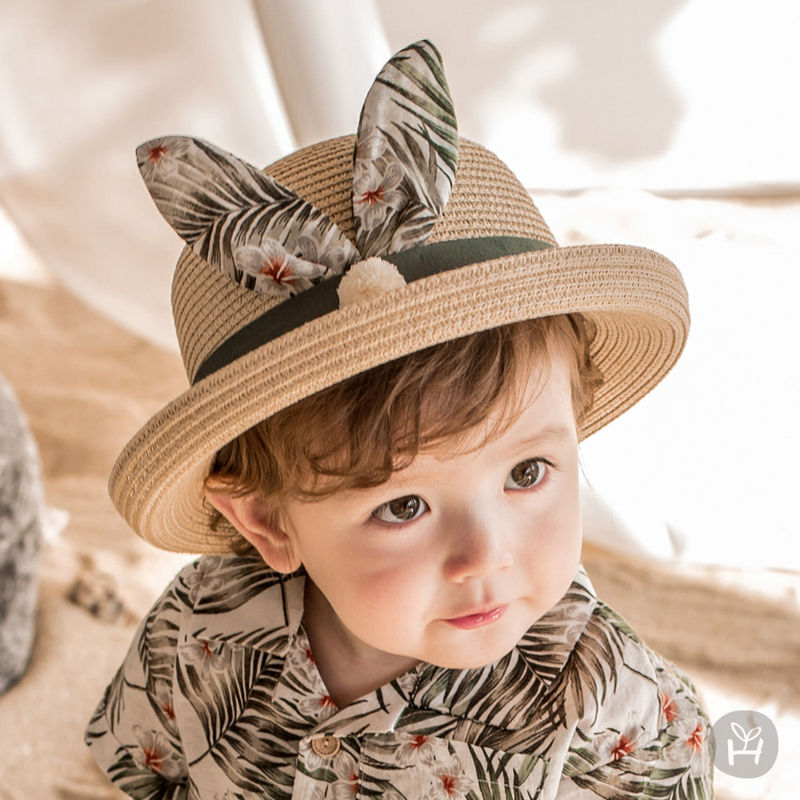 HAPPY PRINCE - BRAND - Korean Children Fashion - #Kfashion4kids - Pio Straw Fedora