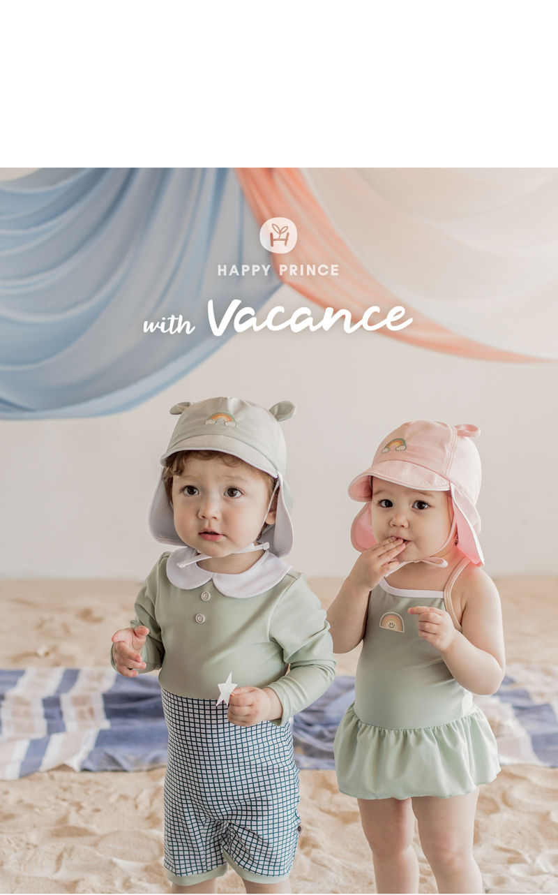 HAPPY PRINCE - Korean Children Fashion - #Kfashion4kids - Nene Iris UV Flap Cap