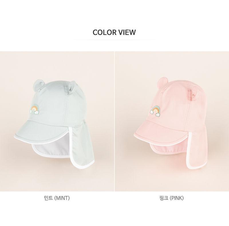 HAPPY PRINCE - Korean Children Fashion - #Kfashion4kids - Nene Iris UV Flap Cap - 11