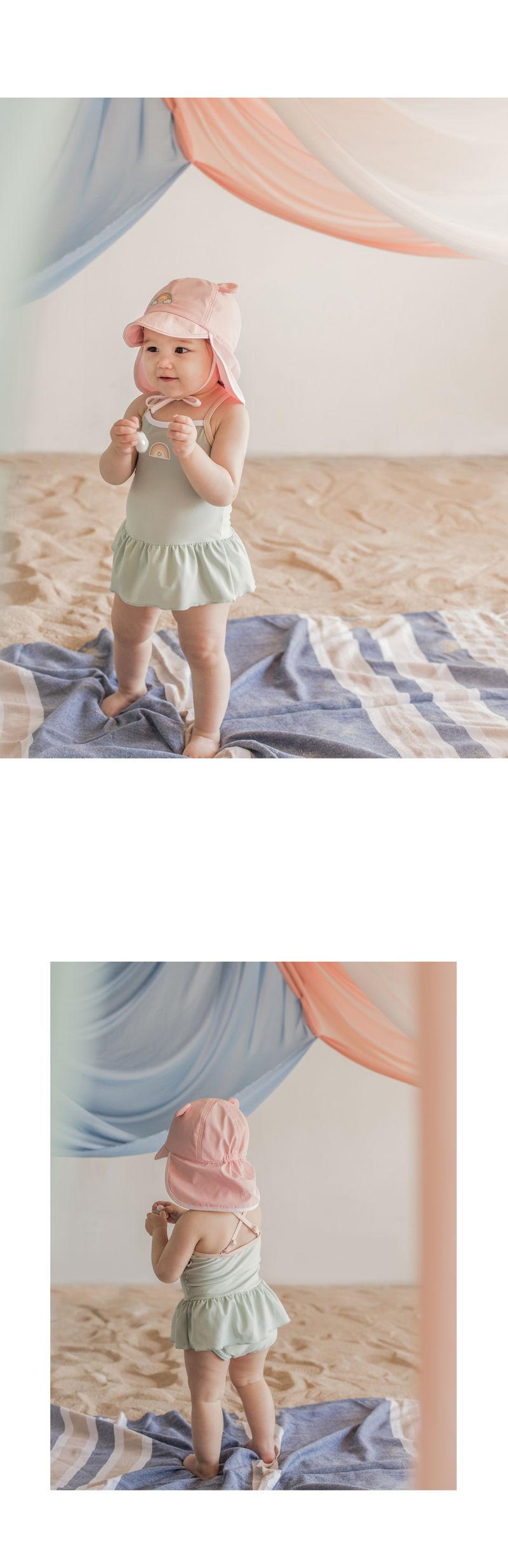 HAPPY PRINCE - Korean Children Fashion - #Kfashion4kids - Nene Iris UV Flap Cap - 4
