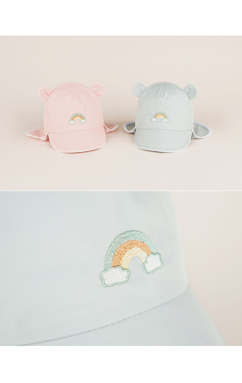 HAPPY PRINCE - Korean Children Fashion - #Kfashion4kids - Nene Iris UV Flap Cap - 5