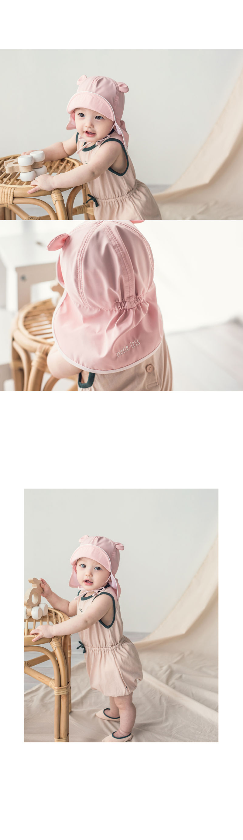 HAPPY PRINCE - Korean Children Fashion - #Kfashion4kids - Nene Iris UV Flap Cap - 7