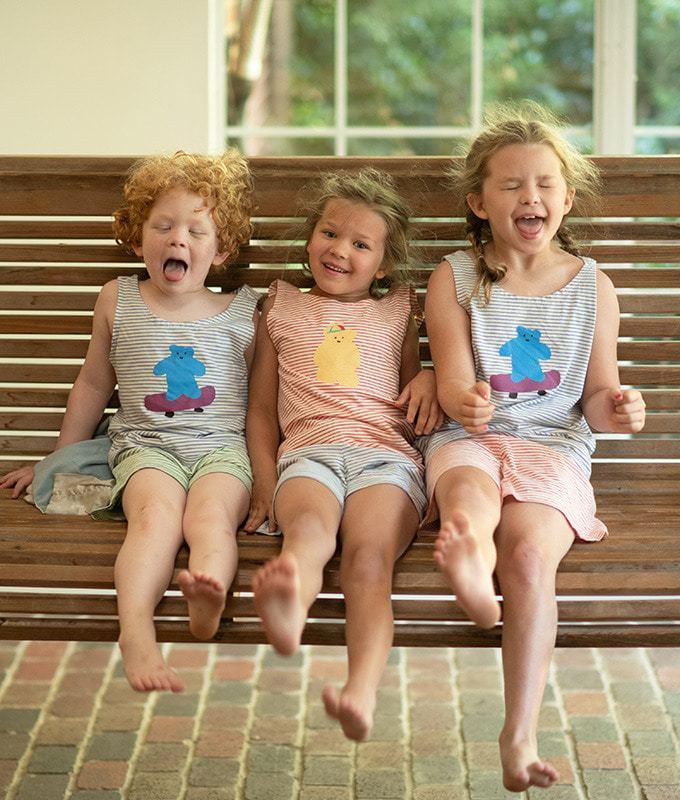 KOKACHARM - BRAND - Korean Children Fashion - #Kfashion4kids - Bear Jelly Inner Top