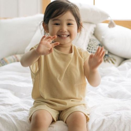 LITTLE COLLI - BRAND - Korean Children Fashion - #Kfashion4kids - Cool Top Bottom Set
