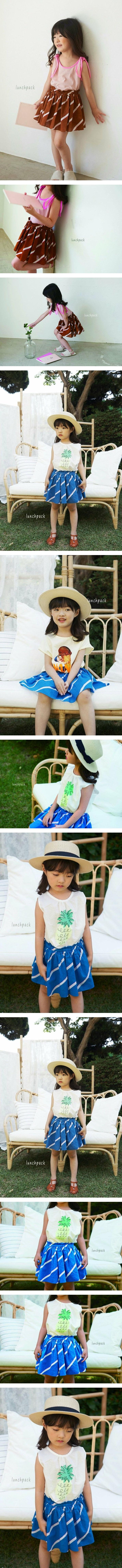 LUNCHPACK - Korean Children Fashion - #Kfashion4kids - Rene Skirt