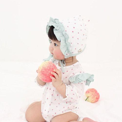 MEREBE - BRAND - Korean Children Fashion - #Kfashion4kids - Mini Berry Baby Midi Bodysuit