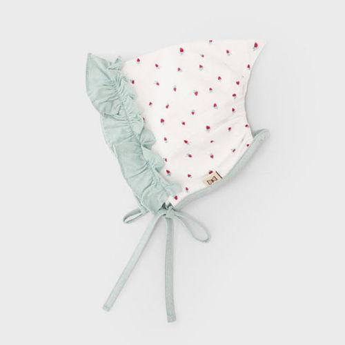 MEREBE - BRAND - Korean Children Fashion - #Kfashion4kids - Mini Berry Summer Bonnet