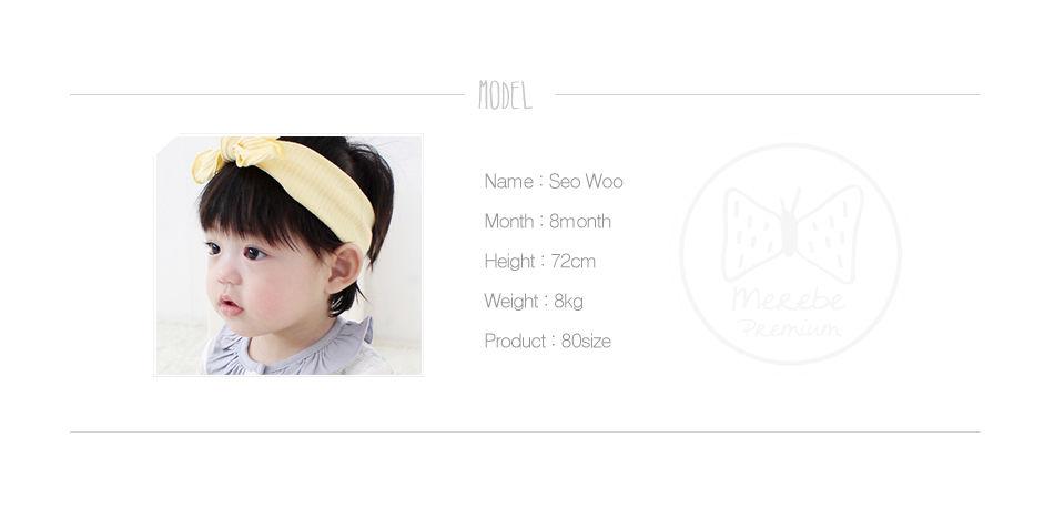 MEREBE - Korean Children Fashion - #Kfashion4kids - Calendula Summer Bonnet - 3